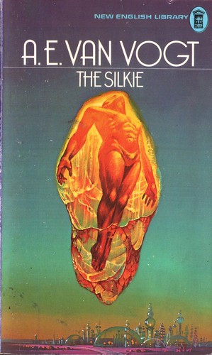 The Silkie by A. E. Van Vogt. NEL 1977. Cover artist Bruce Pennington