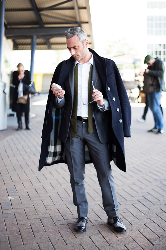 Street Style - Olivier Di Gianni, Graduate Fashion Week