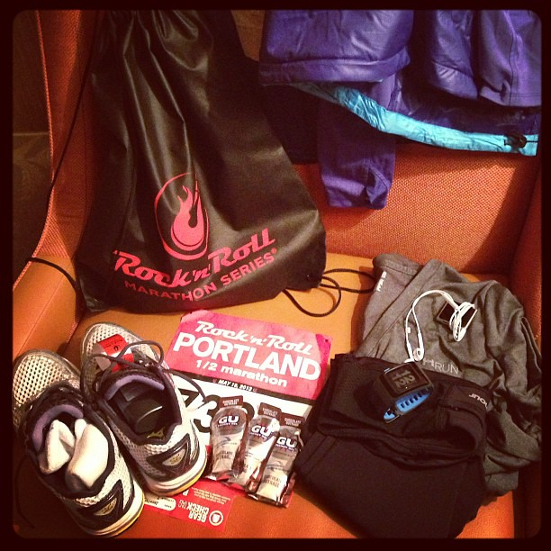 I think I'm ready. Now if I can just get some sleep...  #motherrunner #halfmarathon