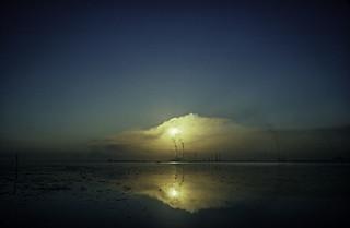 Marghera nella laguna di Venezia