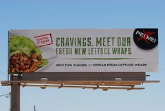 Pei Wei billboard - Santan Freeway Loop 202, Chand…