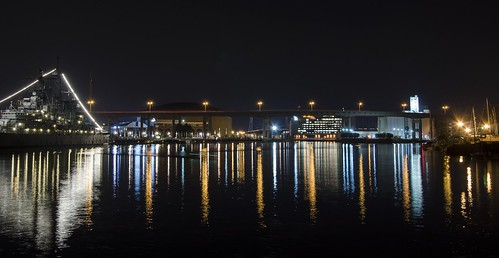 new york ny mill water marina lights harbor buffalo long exposure elevator grain basin erie battleship