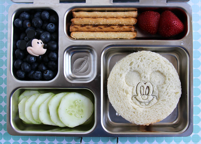 Mickey Mouse Preschool Bento #467