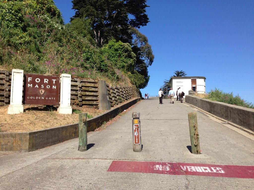 Fort Mason Path
