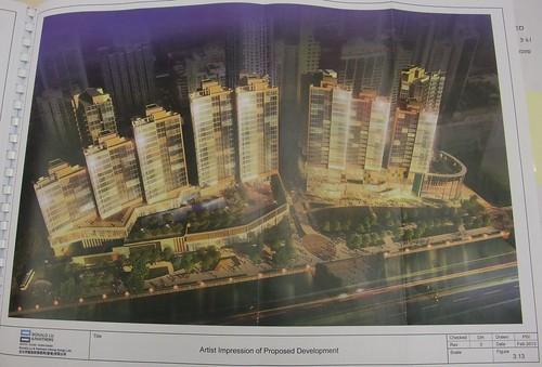 2013年2月 前北角邨地盤構思圖