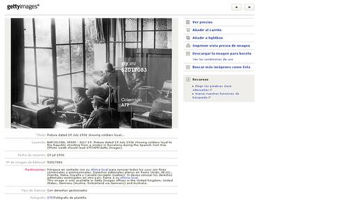 Las fotos de Agustí Centelles i Ossó en Getty Images y Corbis, el reconocimiento del autor. by Octavi Centelles