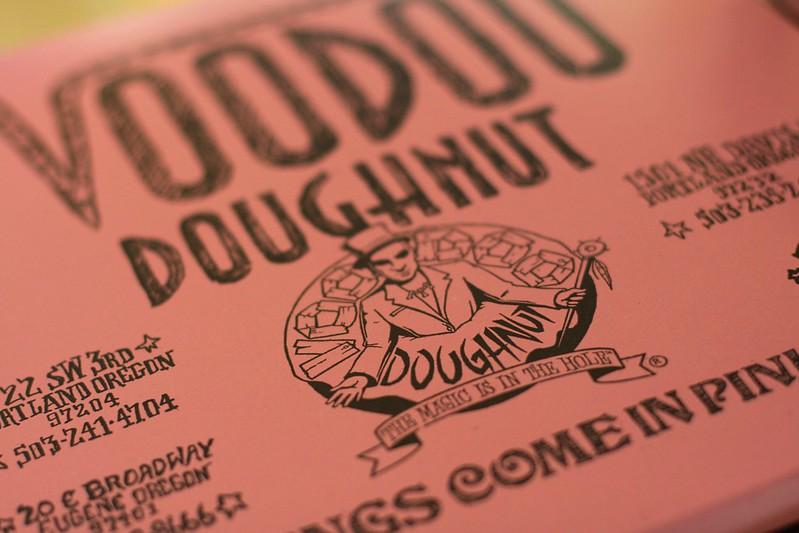 voodoo vegan doughnut