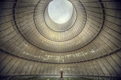Abandoned cooling tower S