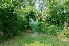 Sculpture d'un poussin