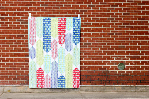 All Tied Up Quilt by Jeni Baker