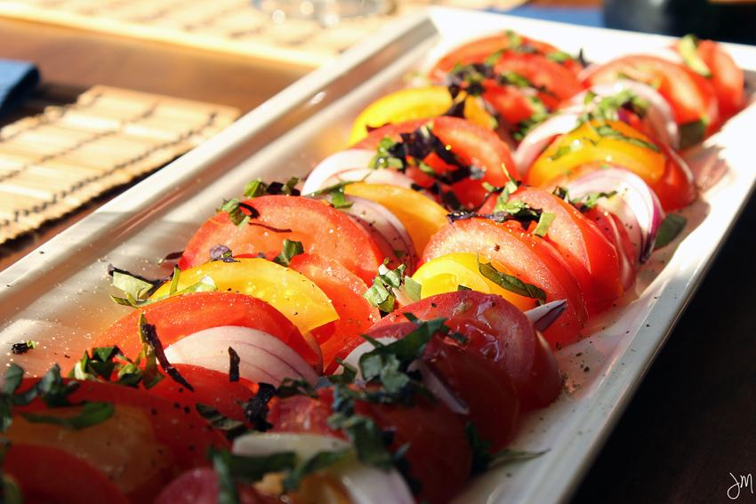 Julip Made quick bites burrata and tomatoes4