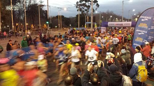 Run Melbourne 2013 Start
