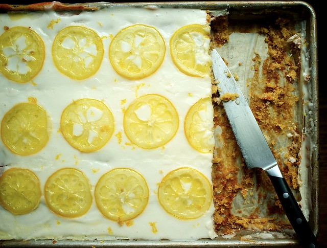Candied Lemon Sheet Cake from Food52