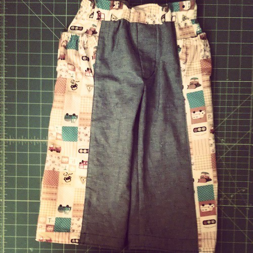 Treasure pocket pants #sewing #sewingforboys