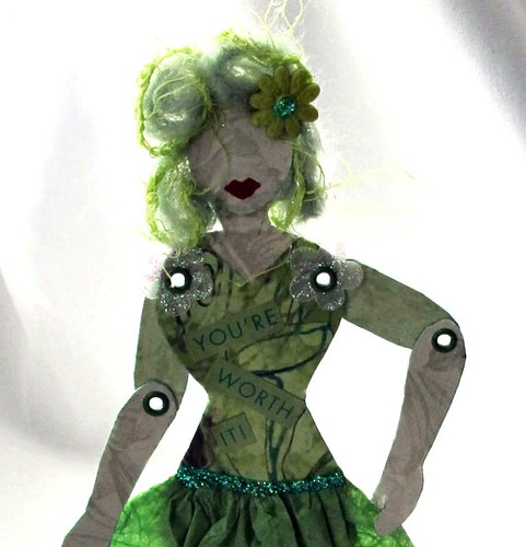 Articulated Paper Art Doll