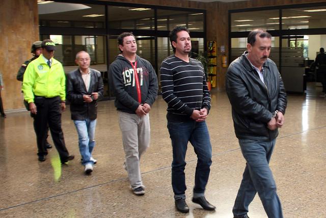 Los extraditables integraban redes transnacionales dedicadas al envío de heroína y clorhidrato de cocaína