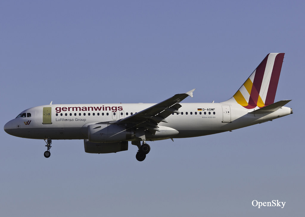 Germanwings Airbus A319-132 D-AGWF