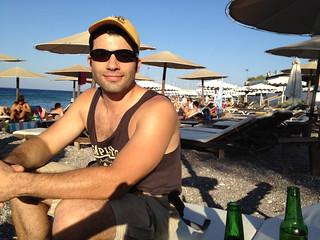 Imagine de Έλλη (Elli Beach) Elli Beach lângă Ródos.