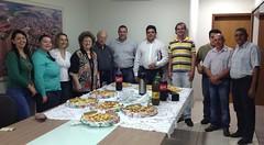 JUSSARA-Jul 2013-DEP ZACHAROW COM PREFEITO E FUNCIONÁRIOS