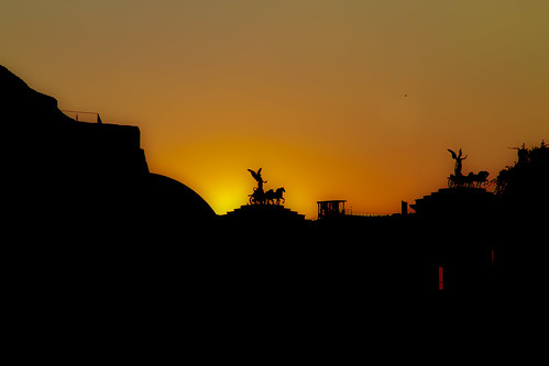Sunset in Rome by Davide Restivo