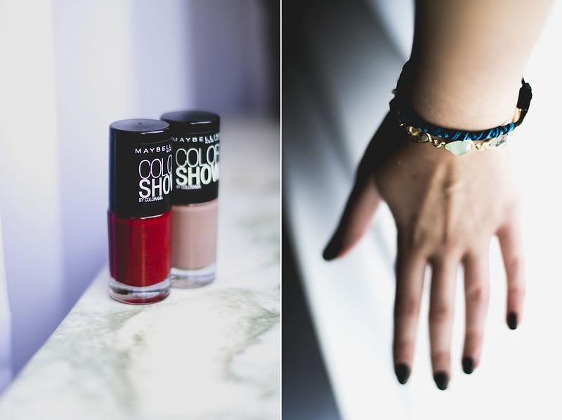 nail polish / bracelet
