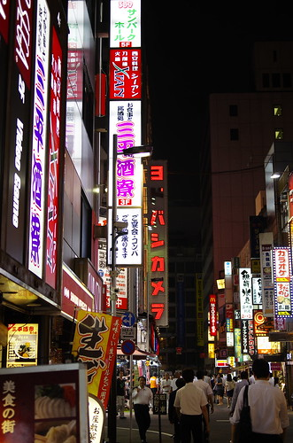 Shinjuku night view  by leicadaisuki