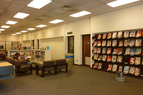 New books and periodicals area