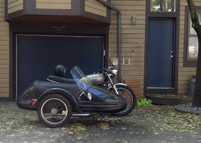 CB550 Sidecar