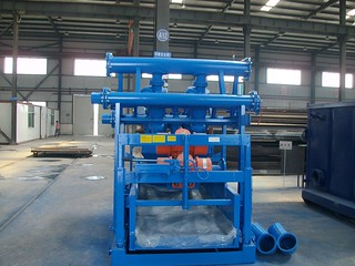 China well drilling equipment factory -KOSUN QZS Series Mud Cleaner