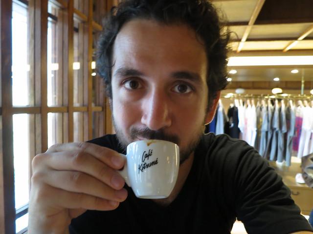 Espresso selfie
