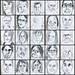 2 minute portraits ~ II by Gila Mosaics n'stuff