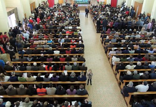 Centenas de pessoas participaram da Romaria na última quinta-feira, 19 de setembro.