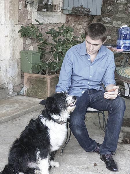 clément et le chien du mas allègre