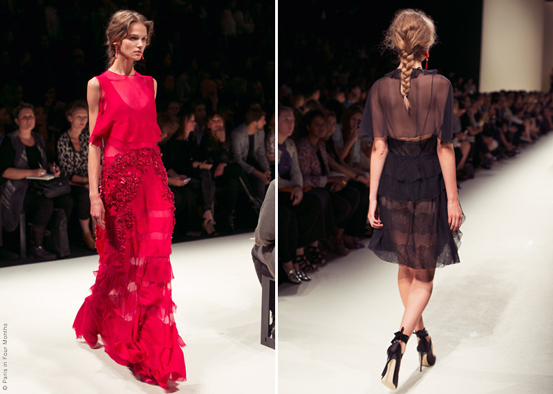 Alberta Ferretti Fashion Show in Milan