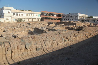 Image of Nabataens Port. archaeology marine ruins ship walls relics
