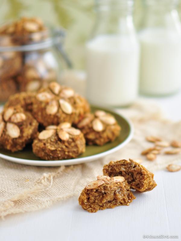 Vegan Pumpkin & Coconut Cake Bites