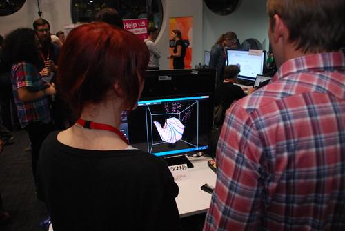 MozFest - 3D Hand Scans