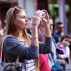 A beautiful photographer
