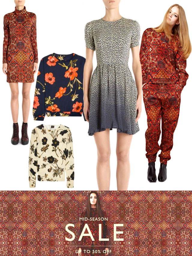 house of hackney, made in England, pattern mixing, 90s trend, sustainable fashion