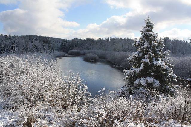 First Snowfall of the Season!