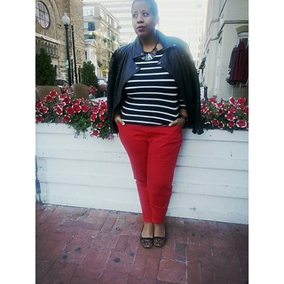 Dear @fancylexy, I'm sorry for wearing my jacket like this but I was walking to my car ;) #ootd #fatshion #plussize #whatiwore