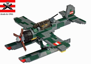 Arado Ar-196 - Imperial Lego Naval Aviation