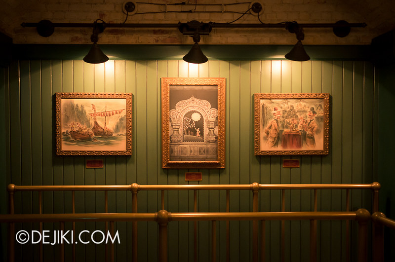 Mystic Manor - Teaser Art Frames