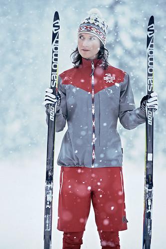Ropa para mujer de esquí de fondo