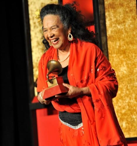 Premios Grammy Latino 2013, Totó La Momposina. Foto Rodrigo Varela - WireImage.com