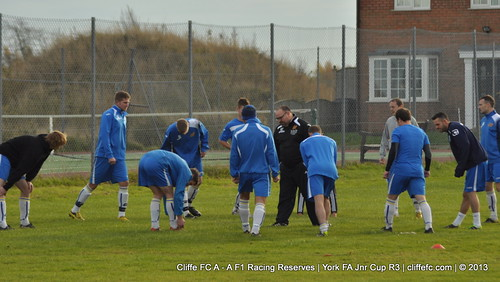 Cliffe FC A - A F1 Racing Reserves (York FA Cup) 23Nov13