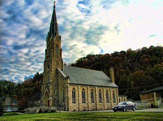 St Joseph's Church, Elkdader, Iowa