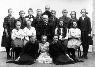 Avgangklasse Byåsen skole (1922)