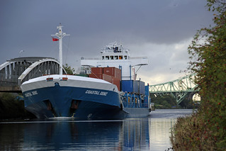 Coastal Deniz on Manchester Ship Canal