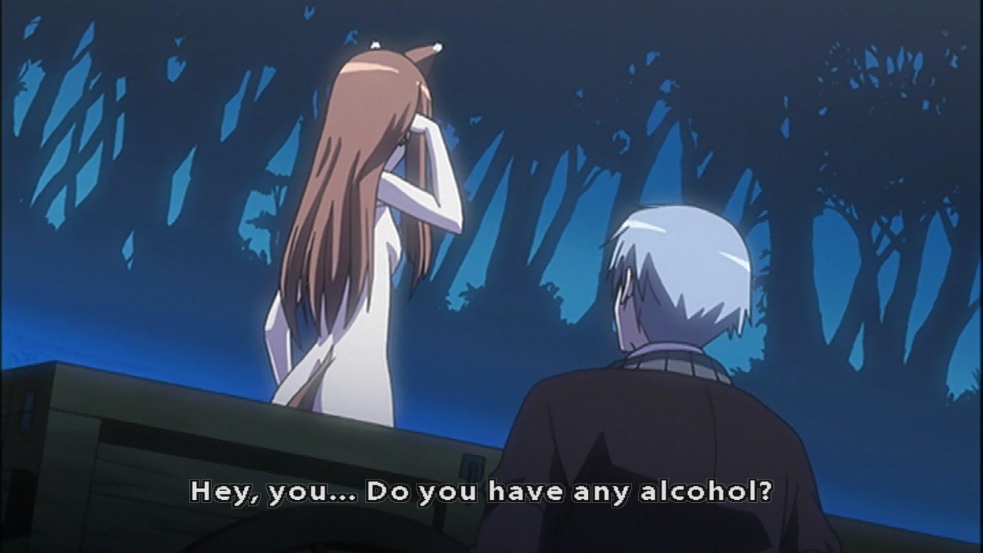 Drunken Otaku: Great Drinker – Holo the Wasted Wolf – :: Ani-Gamers